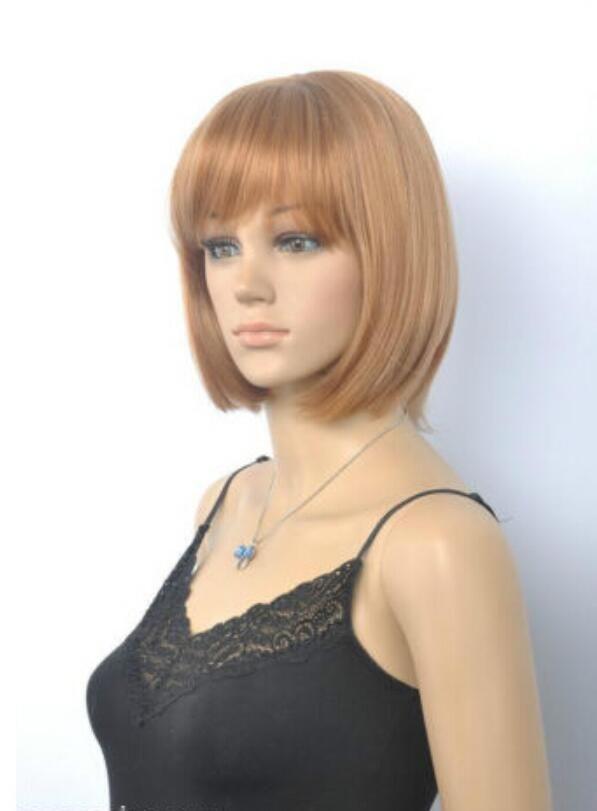 Парик Горячие термостойкие волосы Kanekalon Party Новый список! Новый короткий парик COS богиня / парик