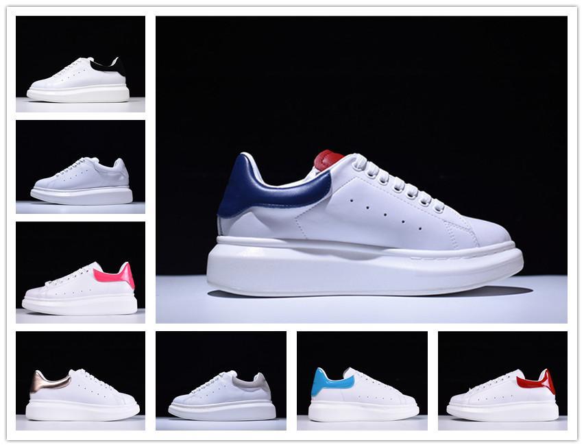 2020 Nuevo New Black White Platform Classic Casual Zapatos Casual Sports Zapatos para hombre zapatillas de deporte para mujer Velvet Heelback Vestido Zapato Deportes Tenni