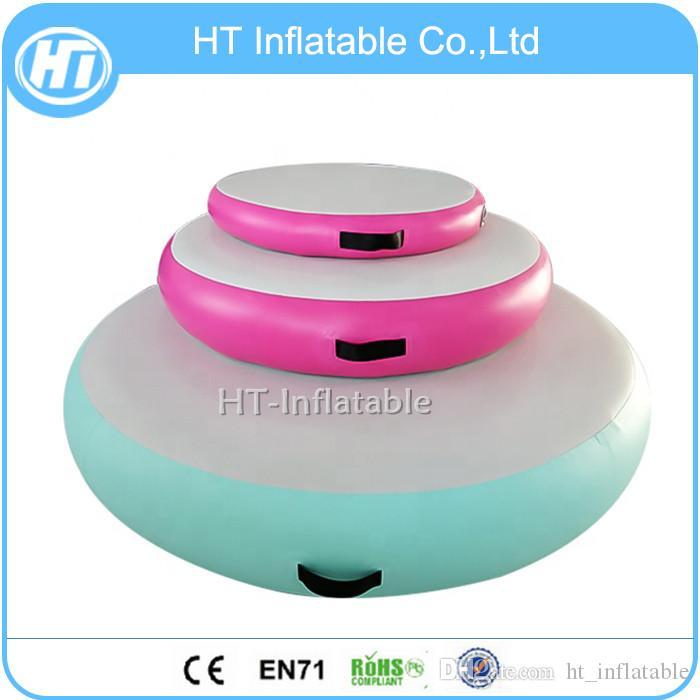 Freie Verschiffen-Qualität Gymtramp Unterschiedliche Größe Gymmnastics Ausrüstung Aufblasbare Luft Pit Air Spots Kreis für die Ausbildung