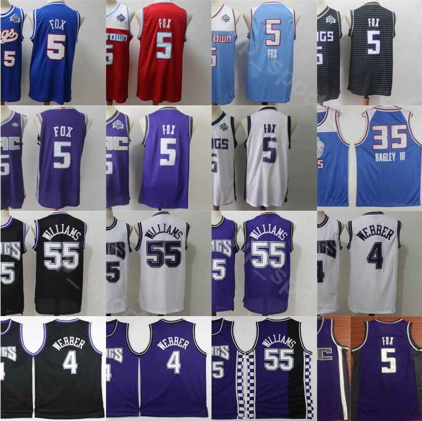 2021 2020 Men Vintage Sport Cheap Jersey 4 5 55 35 Stitched ...