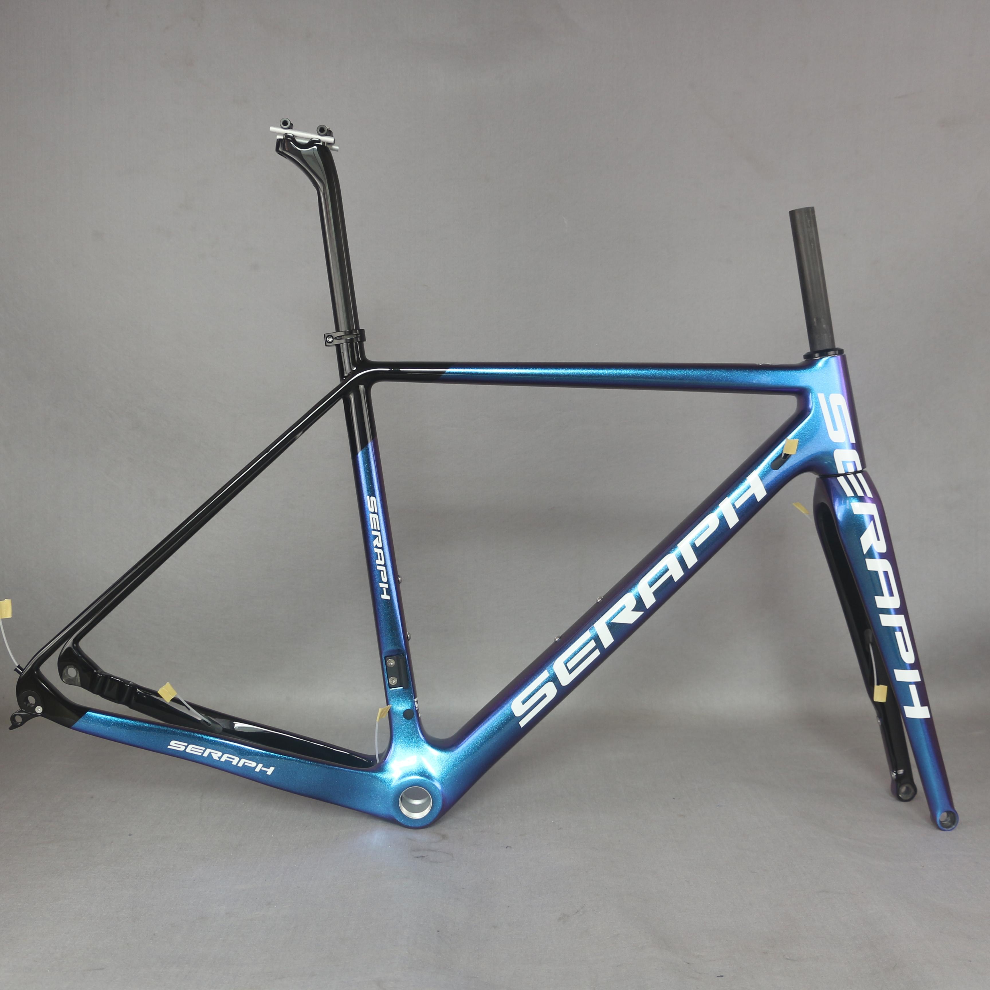 BiyFrame طنطان سوبر ضوء الحصى دراجة الإطار من خلال المحور القرص الفرامل الكربون دراجة الإطار كل حجم في المخزون