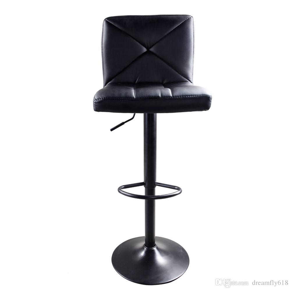 Astonishing 2019 Black Pu Leather Modern Adjustable Swivel Barstools Hydraulic Chair Bar Stools Us Shipping From Dreamfly618 76 48 Dhgate Com Inzonedesignstudio Interior Chair Design Inzonedesignstudiocom