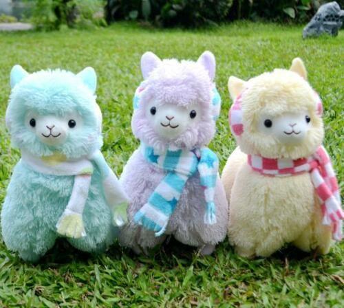 Japan Amuse Arpakasso Alpacasso Alpaca Plush Doll 14''/35cm 3 Colors Optional Free Shipping High Quality