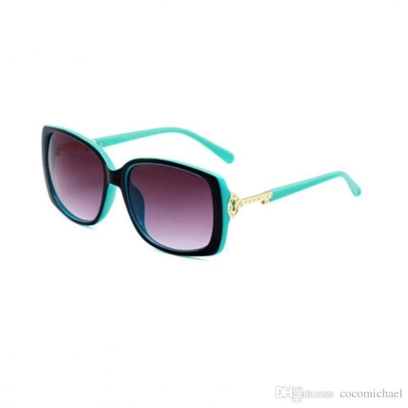 2019 جديد مصمم النظارات الشمسية العلامة التجارية في الهواء الطلق ظلال الكمبيوتر الإطار الأزياء الكلاسيكية سيدة النظارات الشمسية الفاخرة المرايا المرايا للنساء 4043