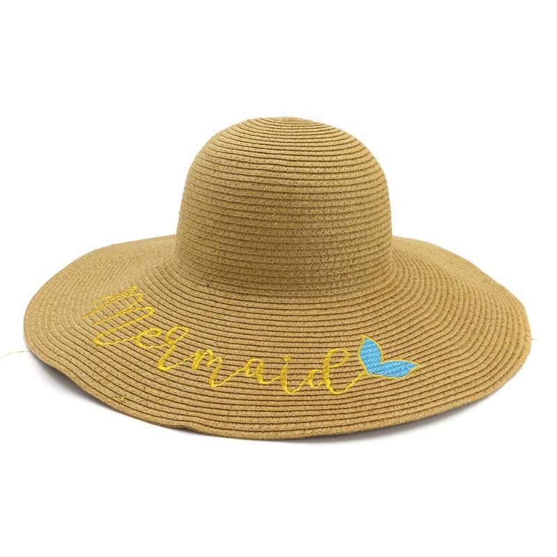 2020 été nouveau pliable femelle chapeau de paille Dames Plage Solaire soleil chapeau sauvage grand le long de la mode tendance pêcheur