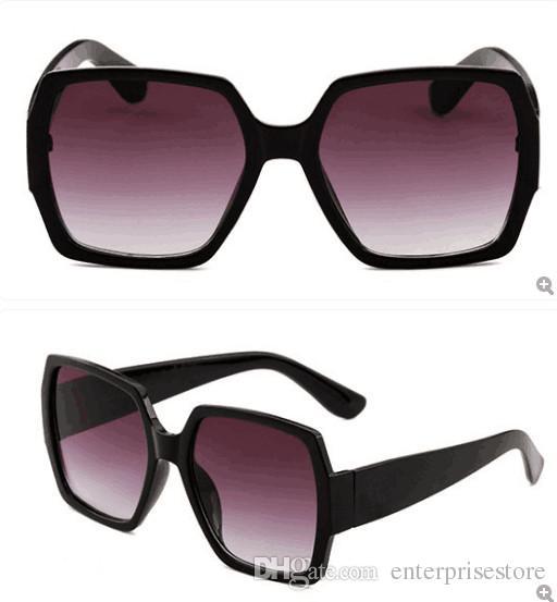 Moda LOGO ile 2019 Yüksek Kalite marka güneş gözlüğü 55931 Erkek Kadın shades Güneş Vintage güneş gözlüğü ücretsiz kutu