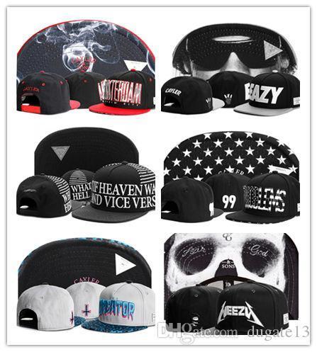 Hot Hip Hop Men/'s CAYLER Sons adjustable Baseball Snapback Black Hat Cap 56#
