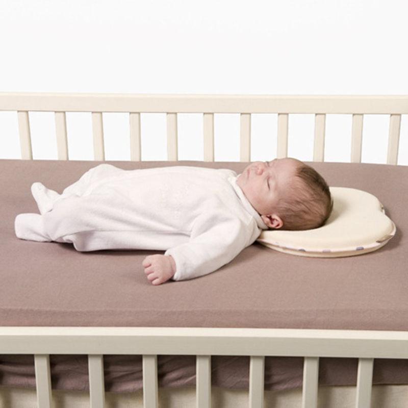 رئيس تشكيل الطفل التمريض وسادة لمكافحة لفة وسادة رغوة الذاكرة منع رئيس شقة الرقبة الدعم الوليد النوم وسادة
