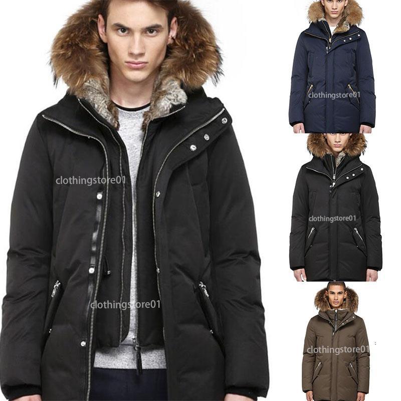 Top Chateaus Brand Mens Veste Homme Outdoor Winter Jassen Outerwear Big Fur Hooded Fourrure Manteau Down Jacket Coat Hiver Parka Doudoune