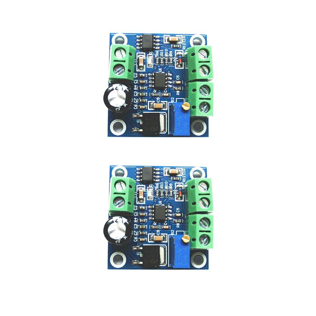 Lot de 2 pièces Fréquence tension du module convertisseur A partir 0-1KHZ 0-10V