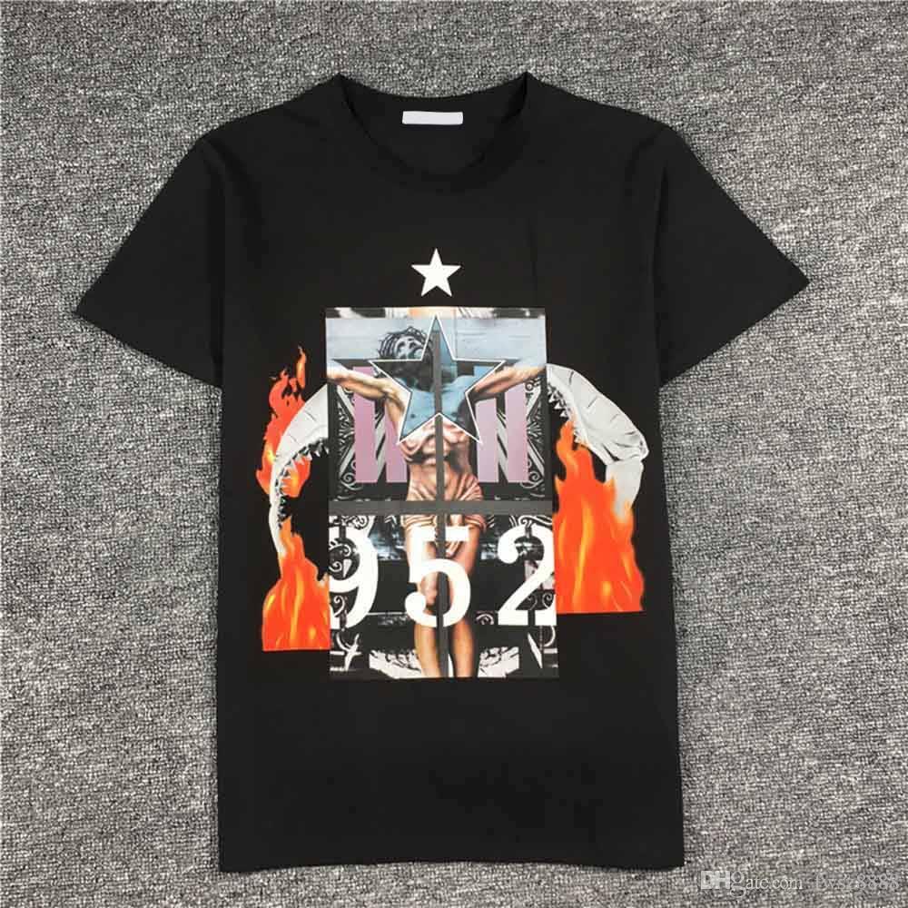 Modello magliette di estate Donne 2020SS nuovo Mens camicia Designer di lusso della moda di Parigi maglietta maschio superiore 100% cotone Top Tee 255.613