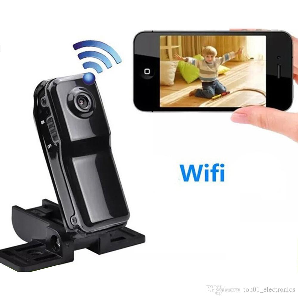 WiFi IP Camera Mini DV Wireless IP Camera P2P Camera Mini Camcorder Digital Video Recorder Mini DVR NEW MD81S