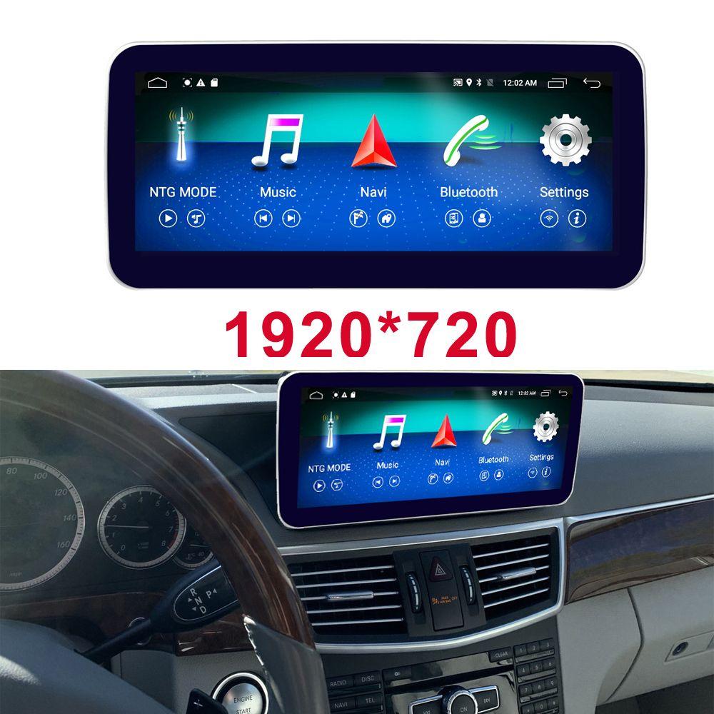 Окта 8-ядерный процессор 4 + экран 64G Автомобильный радиоприемник Bluetooth GPS-навигаторы Автомагнитолы для Mercedes Benz 2009-2016 E300 E350 E400 E500 E200 E250