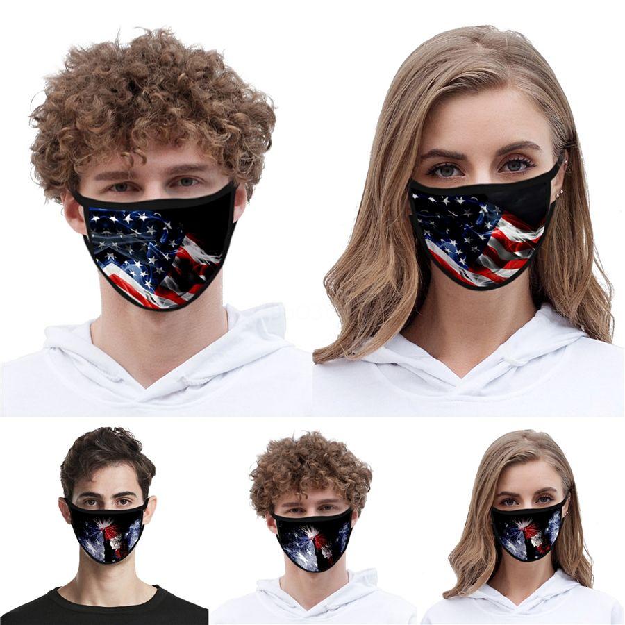Sıcak Satış Çocuklar Yeniden kullanılabilir Unisex Pamuk Yüz Maskeleri Vana PM2.5 Kumaş Ücretsiz # QA736 Maske Filtre Tasarımcı Yüz ile Yıkanabilir Maske