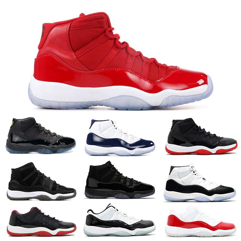 Nike Air Retro Jordan 11 Basketball-Trainer Schuhe 11s Herren Trainer Snakeskin LIGHT BONE VAST GRAY Concord 45 23 Bred Turnschuhe 5,5 -13