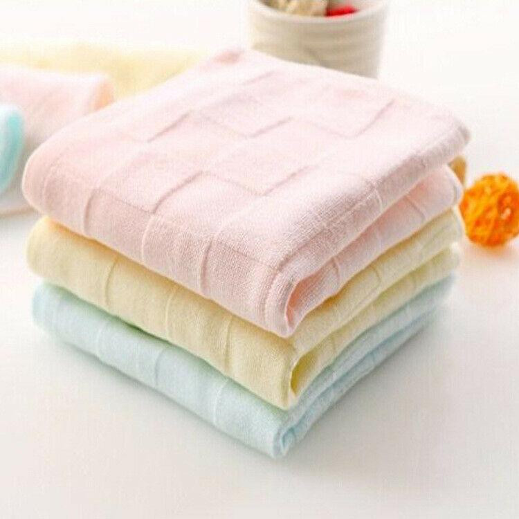Baby Infant Newborn Soft Microfiber Bath Towel Washcloth Blanket Feeding Cloth