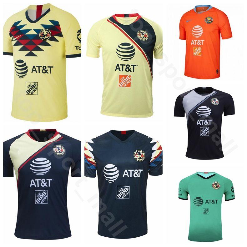 Acquista 2019 2020 Club America Soccer Jersey 24 PERALTA 30 IBARRA 8 MATEUS 7 MENEZ 1 Agustin Marchesin Portiere Maglia Calcio Kit Uniforme A 10,03 € ...