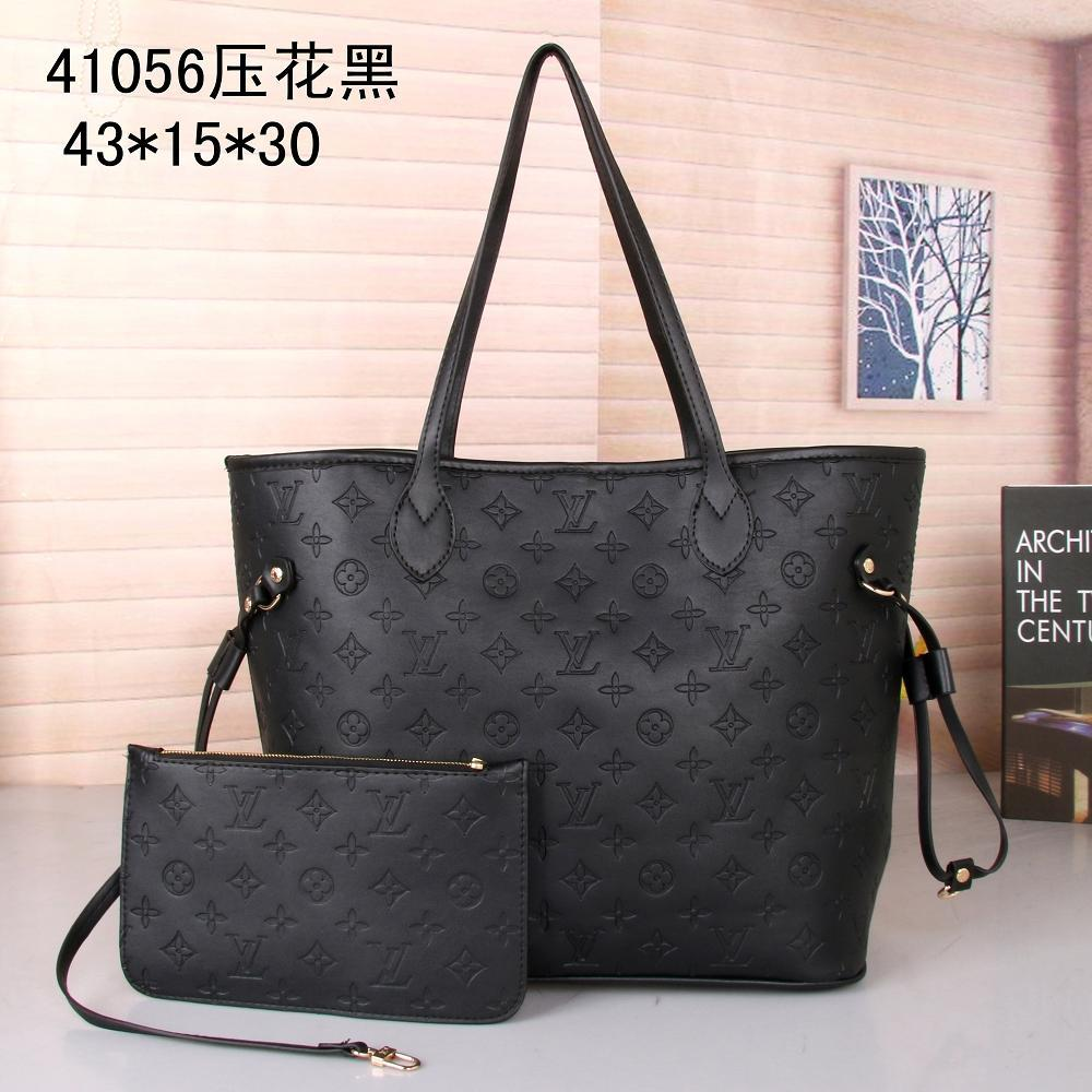 brand new design of the classic handbag High-quality Coated canvas single shoulder bag fashion Mother bags Free Delivery 41056
