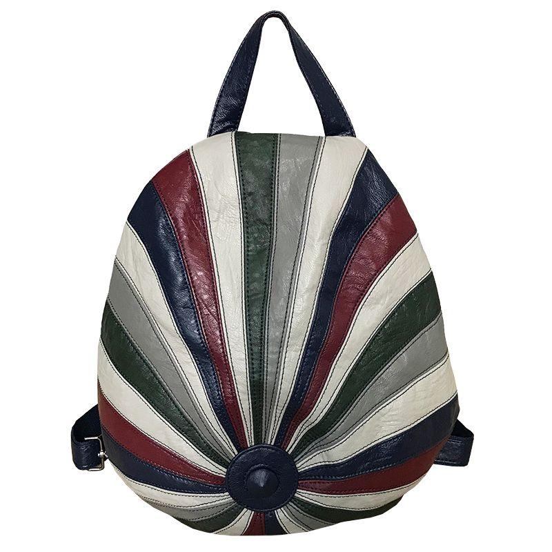 Macio da pele de carneiro das senhoras Backpack 2020 New Multi-purpose Hat Bag Anti-roubo Mochila Casual Hit Viagem Cor Bolsas Meninas