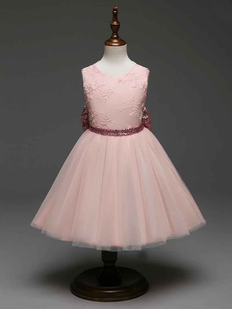 Elegante año nuevo princesa niños fiesta fiesta bowknot vestido de novia vestidos para niños para niñas vestido de fiesta vestido de fiesta vestido de niñas