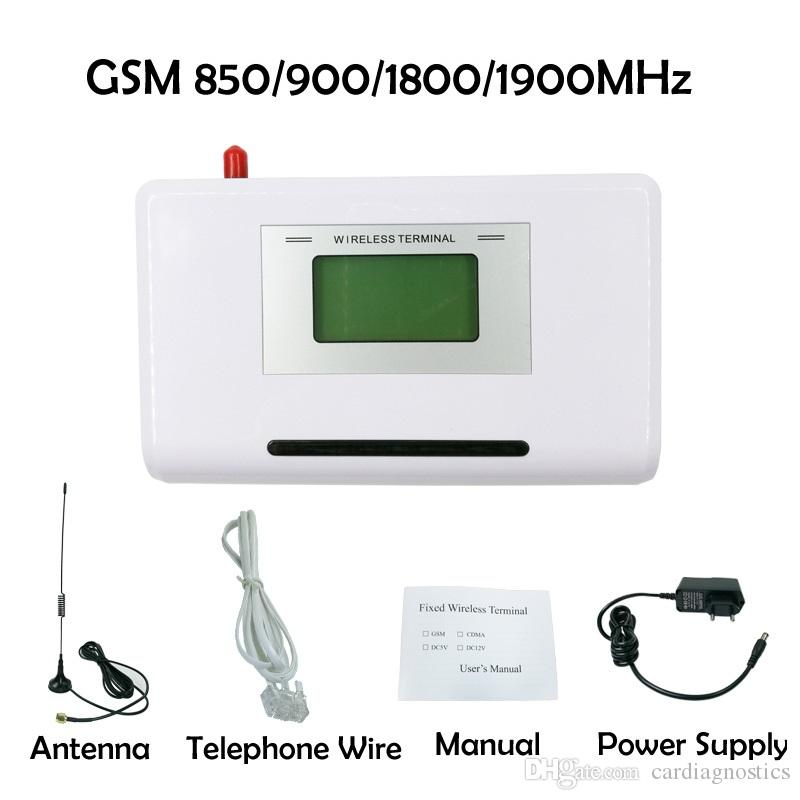 CDT GSM 850/900/1800/1900MHZ Fixed wireless terminal with LCD display, support alarm system, PABX, clear voice, stable signal