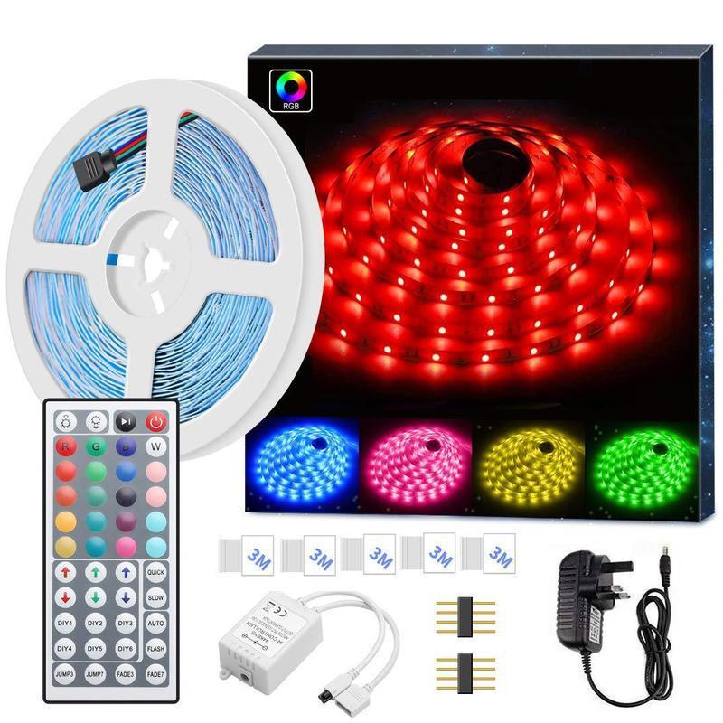 접착제 방수 44Key 다채로운 빛 바 LED 5050RGB 램프는 10,175 조명 실내 침실 휴일 장식을 설정