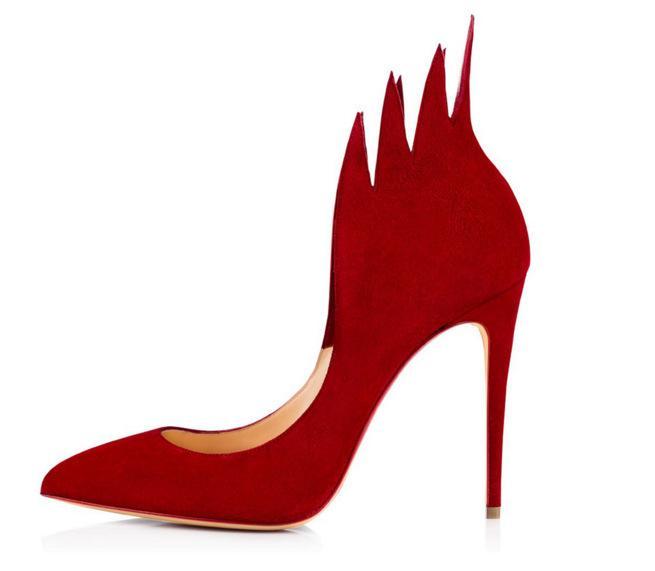 Fashion2019 Fine Flame Sharp With Women's Singles Shoe Women Pumps Shoes