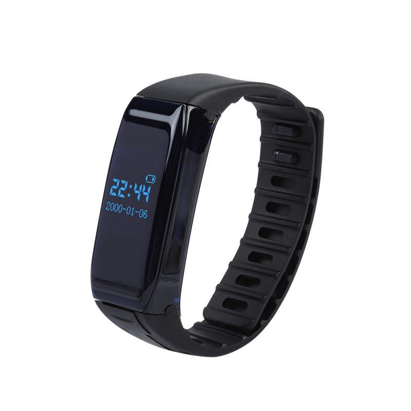 alta qualità ultima vendita come serch Acquista Bracciale 8G Wireless Registratore Vocale Player Display Del Tempo  Braccialetto HD Registrazione Vocale Supporto Riproduzione Nativa A $45.9  ...