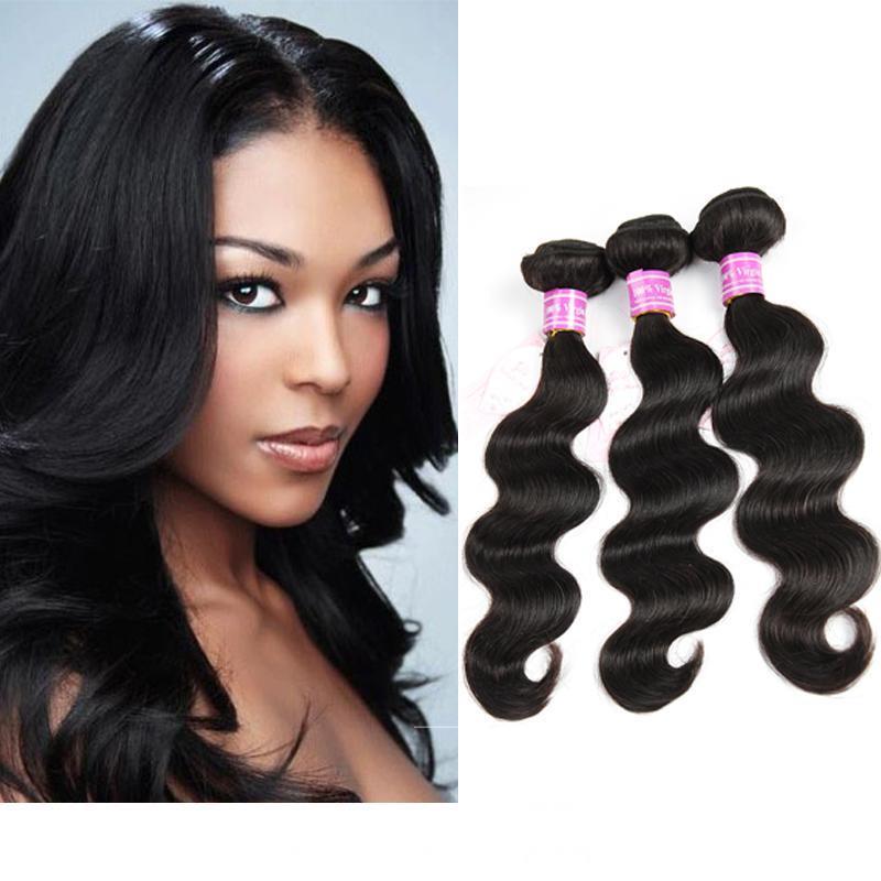 On Sale Top Grade Brazilian Hair Bundle Peruvian Virgin Human Hair Weaves Malaysian Indian Cambodian Mongolian 3 4 5 6 Bundles Free Shipping