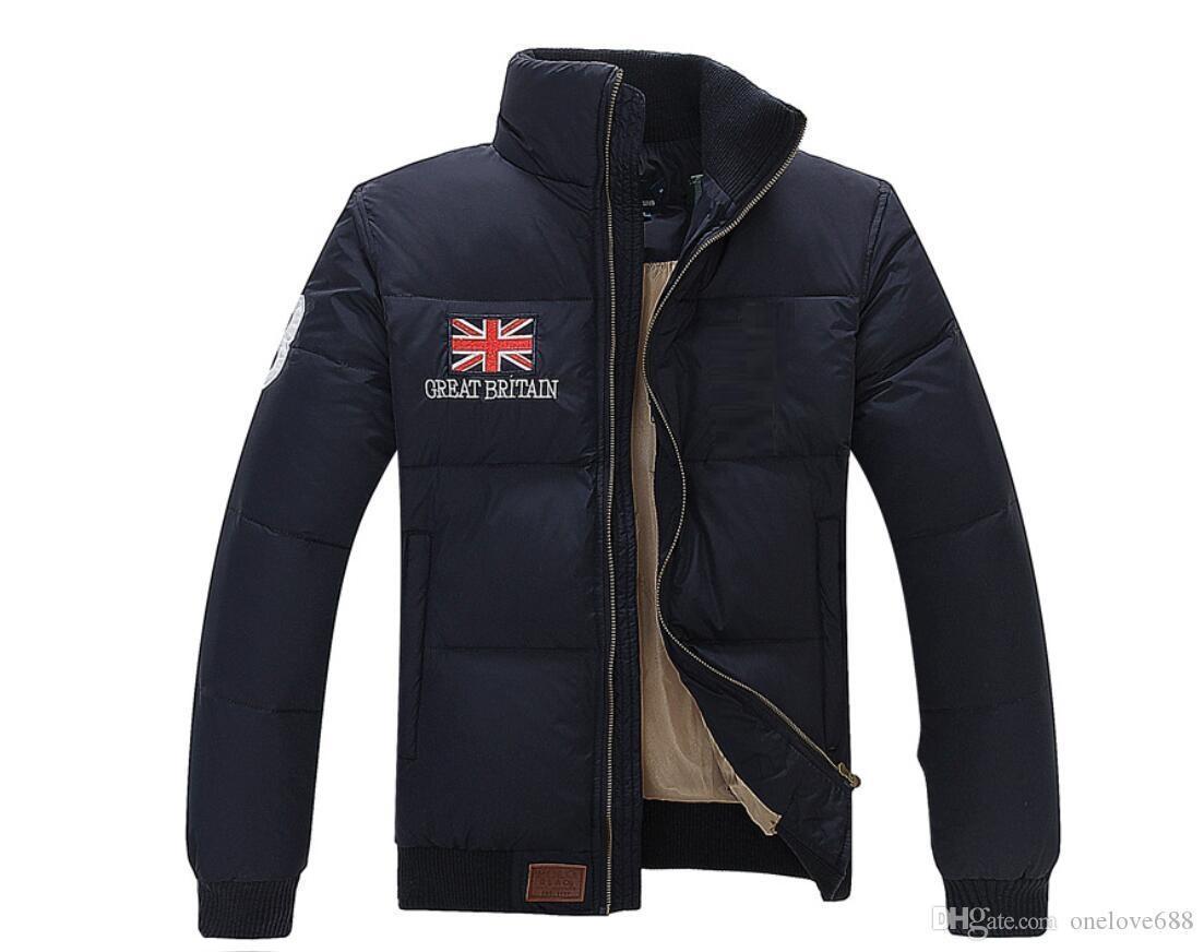 Высокое качество! Завод прямые продажи обратно сезон специальные вниз клиренса куртка моды сгущает двойные вниз куртку мужчин 10 стилей M ~ 2XL