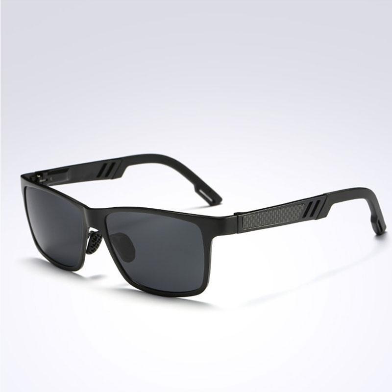 Alluminio buona qualità di modo di magnesio HD Occhiali da sole polarizzati Uomo Classic guida di Eyewear UV400 Occhiali da sole da uomo guida di vendita di fabbrica