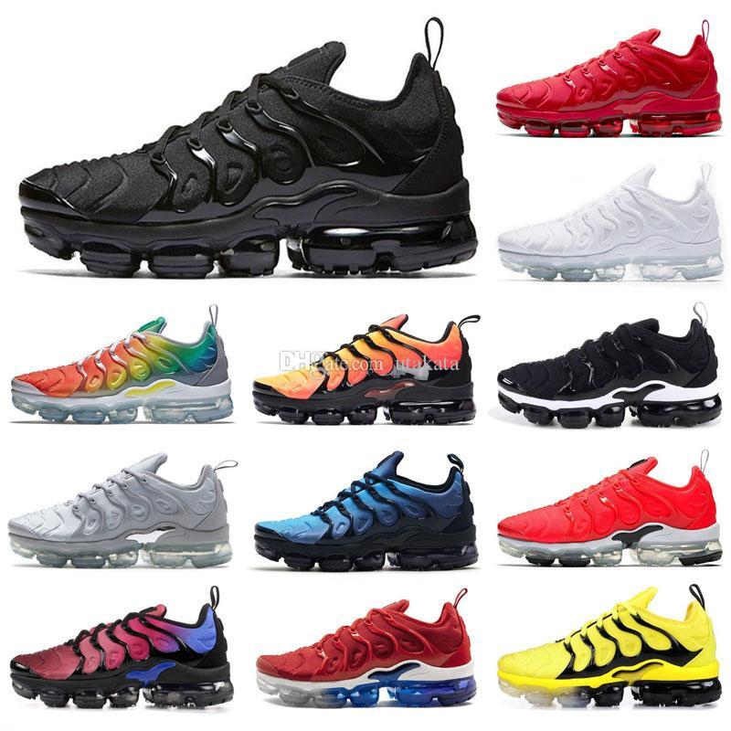2020 تينيسي زائد معدني الفضة الأبيض الثلاثي الأسود النساء الرجال الاحذية تينيسي زائد مدرب حذاء رياضة أحذية شحن مجاني الحجم 36-46