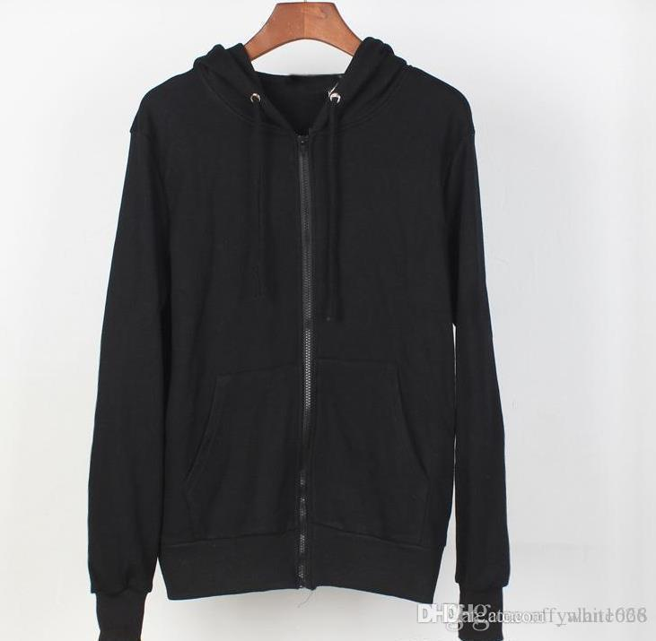 Luxury mens cardigan hoodies quality cotton thin section autumn men and women jackets fashion couple casual jackets