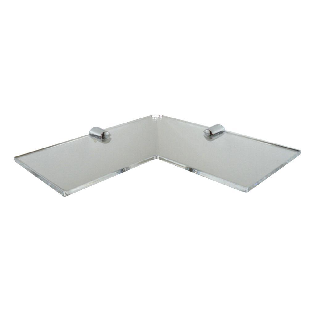 3 Couleurs d'angle étagères de rangement Rack Home Décor pour Salon Salle de bain Chambre