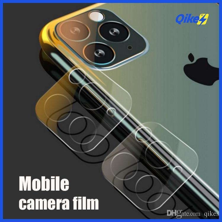 3D la cubierta completa de la lente de cámara Flim templado transparente protectora de cristal para el iPhone 11 Pro Max iPhone11 i Phone11