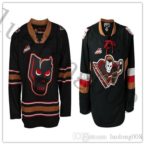 Calgary Hitmen Hitmen Quicklite Hockey Jersey Embroidery Stitched Customize any number and name Jerseys