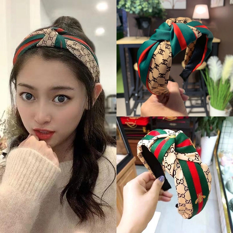 2020 New Hair weiblicher Kopfschmuck kleine haarnadel verknotet Breitrandstirnband Hairpin wildes Haarband Gesicht zu waschen Haarband