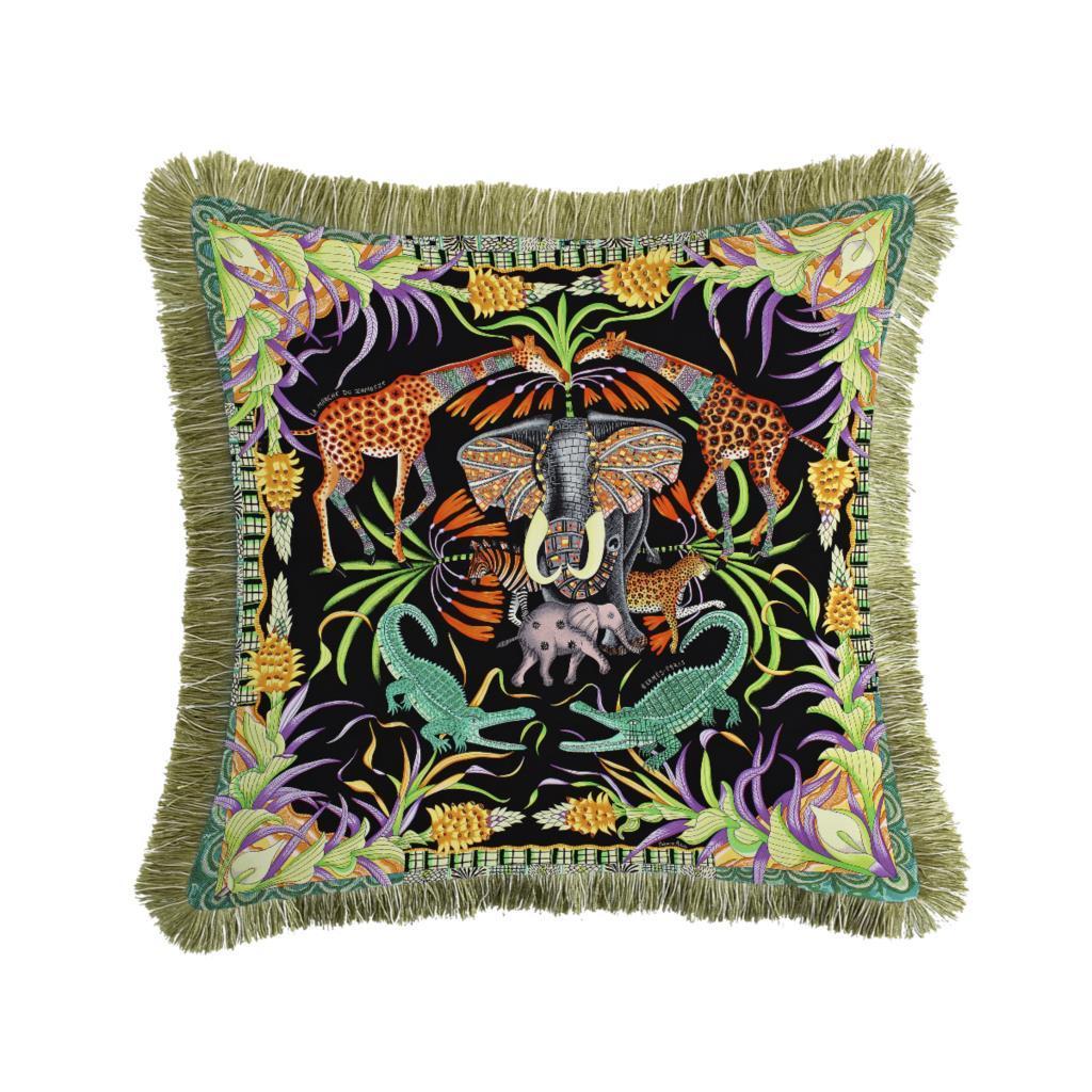 Tercera de lujo Tassel Cojín de cojín suave Doble almohada cubierta de almohada Funda de almohada Casa Decorativa Sofá Sofá Sillón Silla 45x45cm