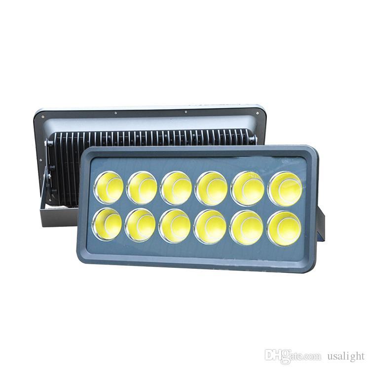 100W 200W 300W 400W 500W LED Projektör Sıcak / Soğuk Beyaz Açık / Kapalı Su geçirmez IP66 Projektör Spot Işık Konut Aydınlatma
