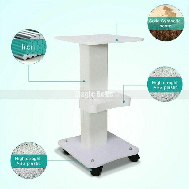 100KG Aluminum Alloy Professional Mobile Trolley with Drawer for Beauty Machine Stand Salon Rolling for Clinic
