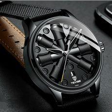 New TEVISE Herrenuhren Edelstahl automatische mechanische Uhr-Mode-Männer schließen Kalender Luminous Geschäfts Mristwatch