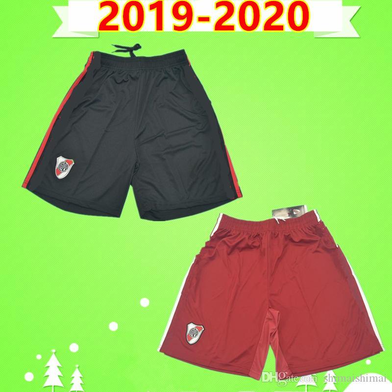 리버 플레이트 (19) (20) 축구 반바지 성인 2019 2020 홈 멀리 블랙 축구 바지 보레 페르난데스 드 라 크루즈 PRATTO SUAREZ 빨간색 망