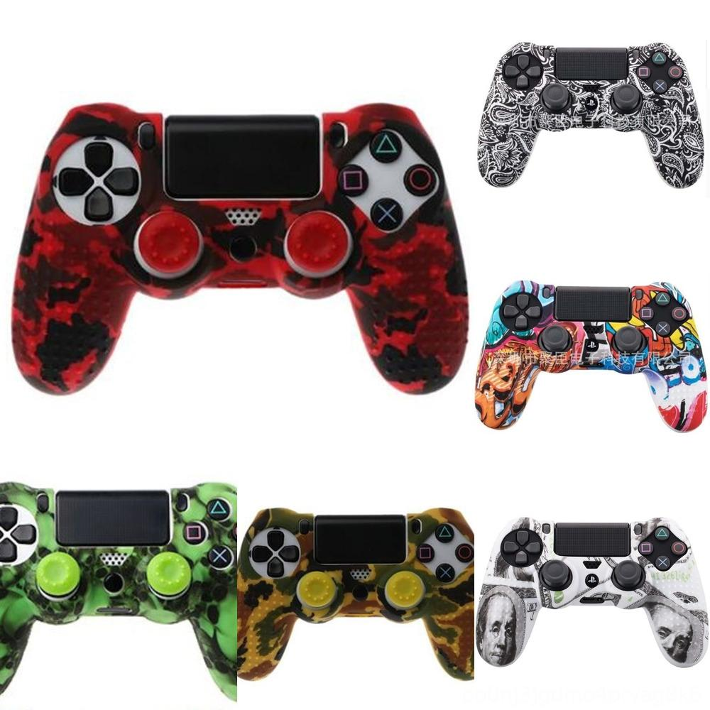 nkRb9 case Rubber Thumb Grips Grip Cap Thumbstick Stick cover Silicone Joystick For PS2 PS3 PS4 Xbox one Xbox 360 Controller
