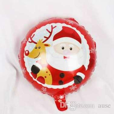 50 pcs 18 inch Christmas Balloon kids toys Air Ballon New Photography Decoration High Quality Air Balls Hot Sale
