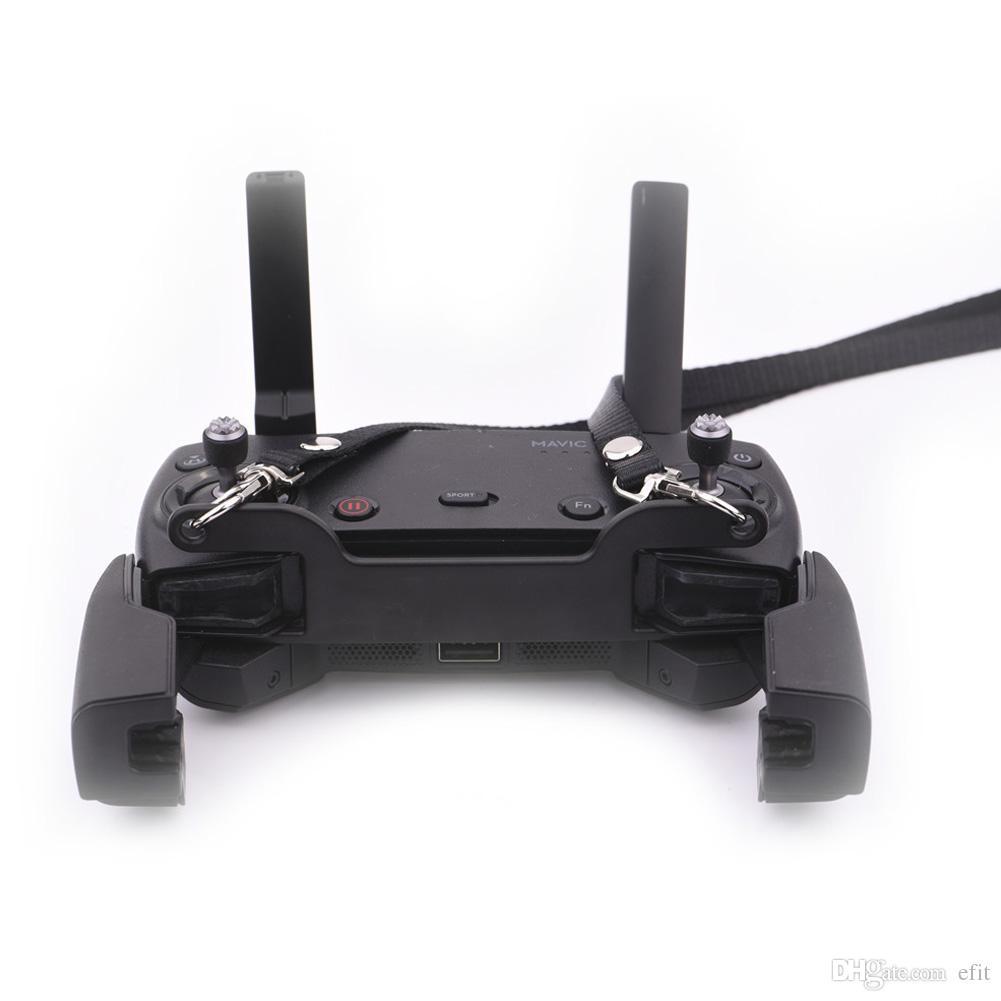 Doble gancho con cinturón UAV Accesorio para DJI MAVIC AIR PRO SPARK Control remoto Eslinga de cuello