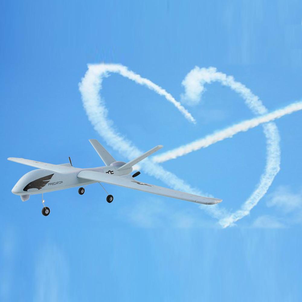 HIINST 2020 YENİ Z51 LED RC Kanat açıklığı 2CH Modu EPO Fly Kanat Uçaklar EPP Köpük Planör Uçak