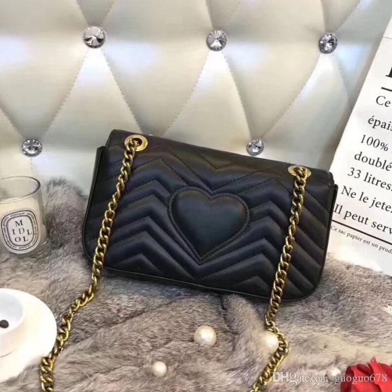 클래식 휴머노이드 퀼트 체인 가방 여성 PU 메신저 가방 핸드백