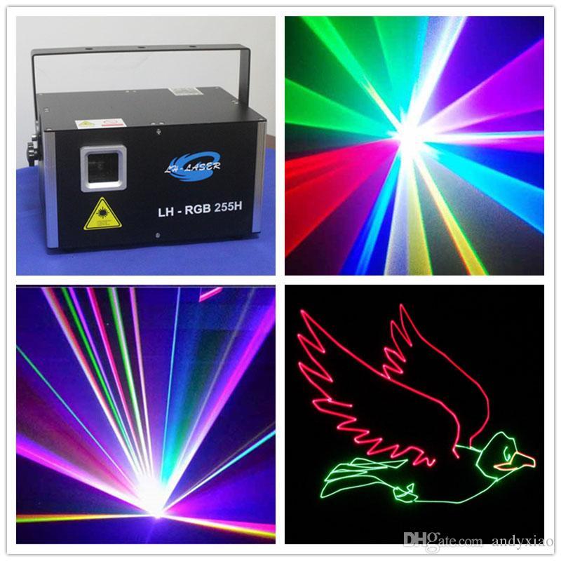 Modulação analógica 3.5W RGB com a máquina do projetor da máquina da propaganda do logotipo da iluminação do laser SD