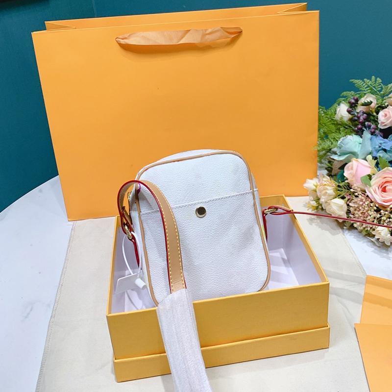 حقائب جودة عالية العلامة التجارية النساء الصليب الجسم الكتف خمر حقيبة 2 الألوان رسول حقيبة اليد الكلاسيكية
