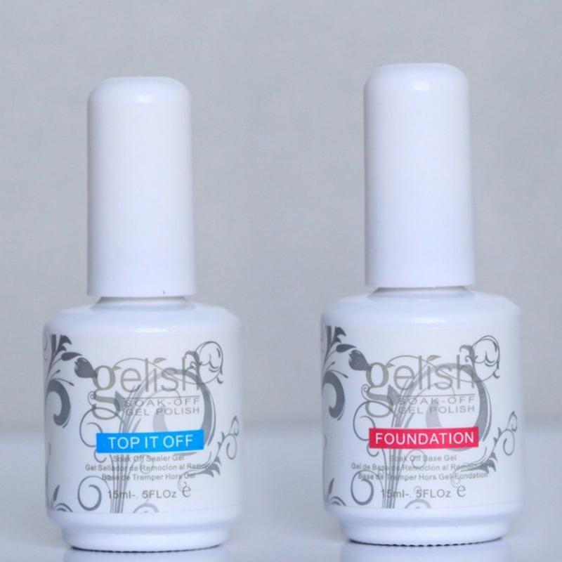 Гель для ногтей 50 шт. / Лот Harmony Polish поглощает прозрачное светодиодное ультрафиолетовое масло, выключает его и применяет маникюр фундамента